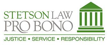 Pro Bono logo - Justice, Service, Responsibility