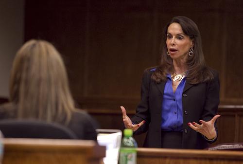 Professor Luz Nagle specializes in international law and international criminal law.