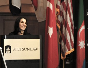 LL.M. in INternational Law student Gulayat Hajiyeva organized the panel.