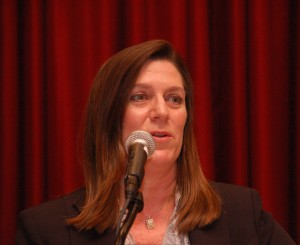 Judge Catherine Peek McEwen received Stetson's J. Ben Watkins Award.