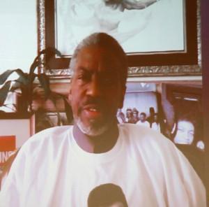 Rev. John C. Williams spoke with Stetson law students via Skype on Feb. 23.