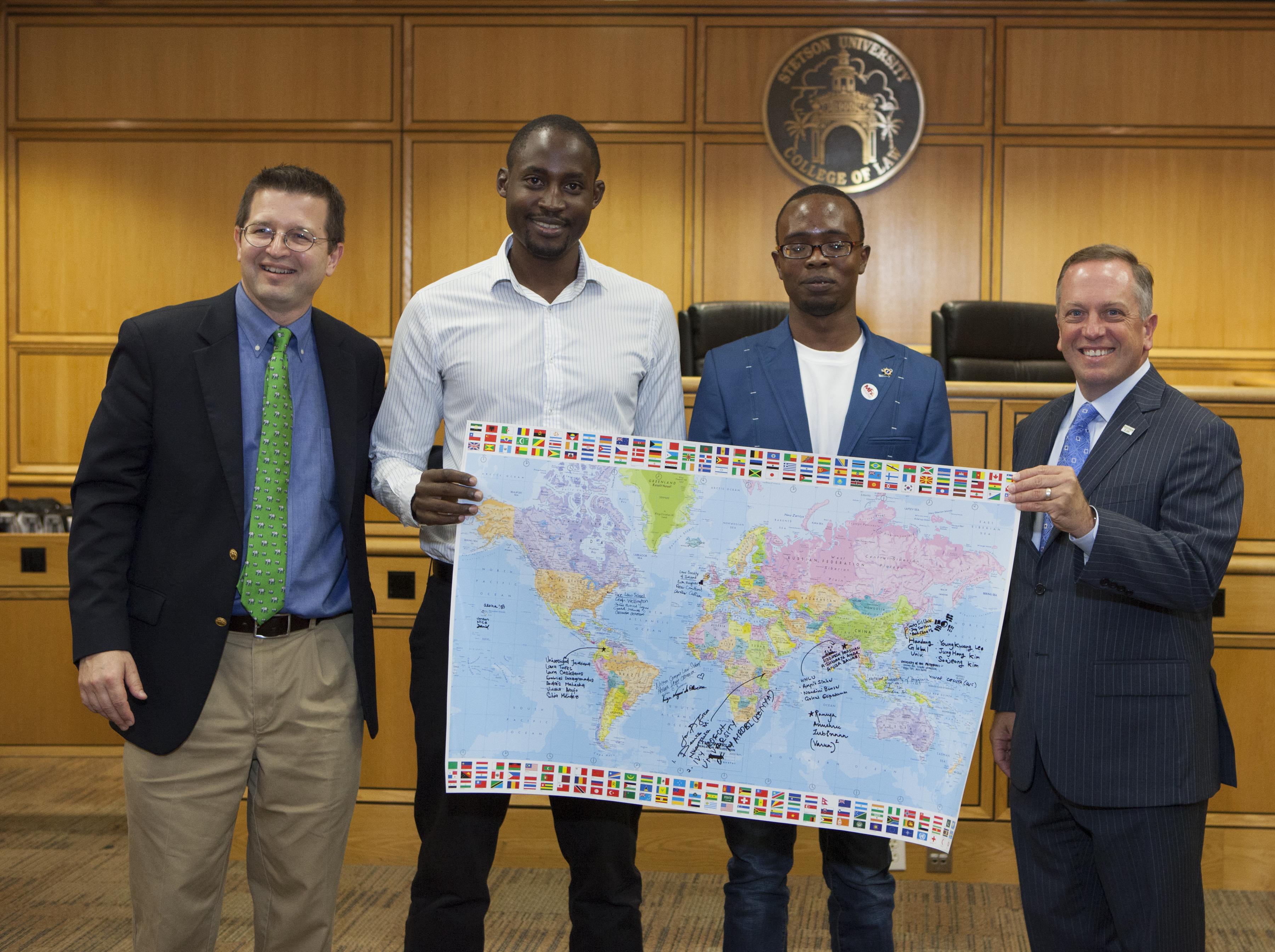 The university of nairobi won the spirit of stetson award