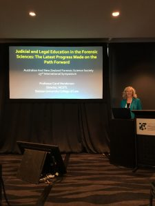Professor of Law Carol Henderson spoke in New Zealand.