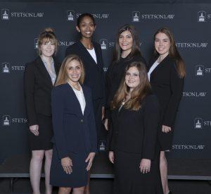 (L-R): Front Row: Anna Kirkpatrick and Marissa Cioffi. Back Row: Brittnie Burns, Adriana Foreman, and Natalie Yello.