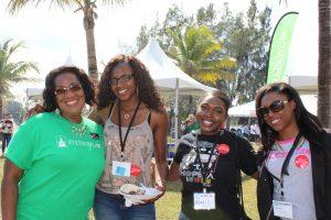 (L-R): Kamilah Clark, Assita Toure, Alexis Turner-Garris, Keongela Norton. Photo by Brielle Tucker.