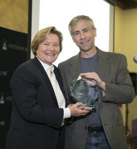 Cris Arguedas received the White Collar Criminal Defense Advocacy Award at Stetson.