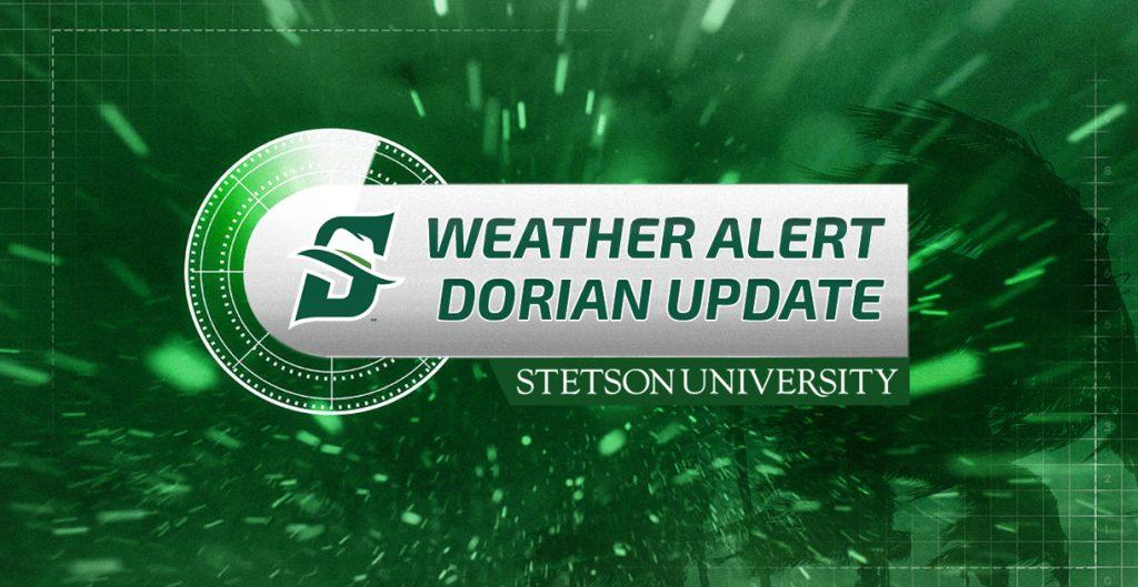 Weather Alert: Dorian Update