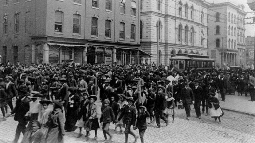 A Juneteenth parade in Richmond, Va., in 1905.
