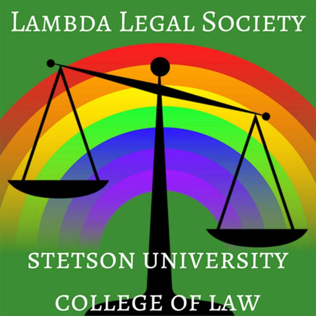 Stetson Law Lambda Legal Society logo
