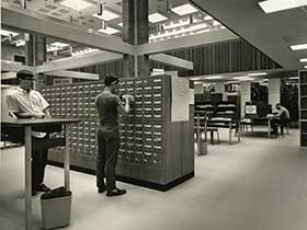 duPont Ball Library circa 1964