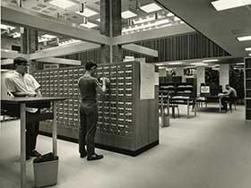duPont Ball Library circa 1964