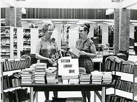 Book Sale circa 1968