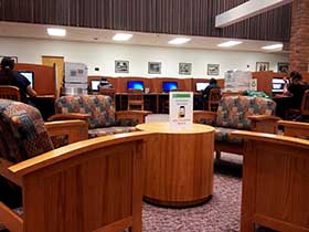 Main Floor Study Area