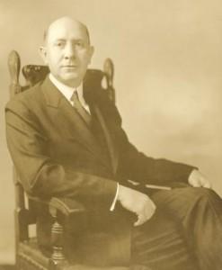 Portrait of President Allen
