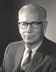 Portrait of President Edmunds