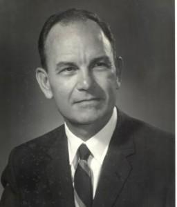 Portrait of President Geren