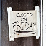 The Library is CLOSED for Good Friday 4/19