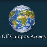 Off-Campus Access to Library Resources Update