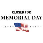 Library Closed for Memorial Day (Monday 31 May)