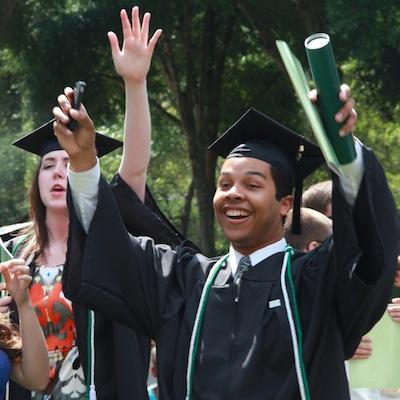 Grad celebrate 400