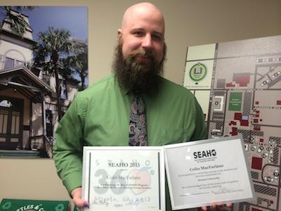 Colin SEAHO awards