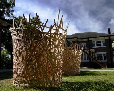 Art of Space Weave Sculpture