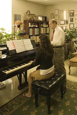 Rickman piano student