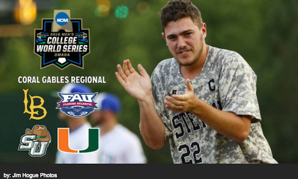 Hatters play Miami NCAA