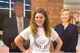 Christina Borg, Stetson Votes president