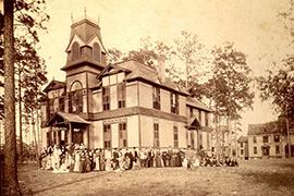 historical shot of DeLand Hall