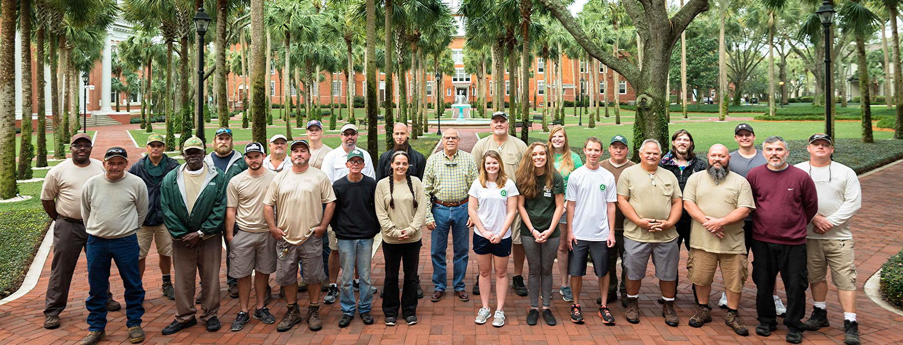 Stetson University Grounds Crew