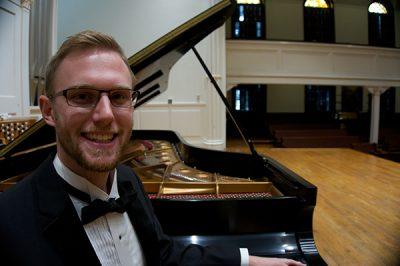 Recent grad Cameron Michael