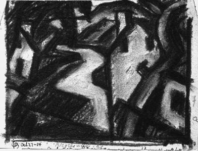 """""""Riegelsville, New Jersey,"""" art work"""