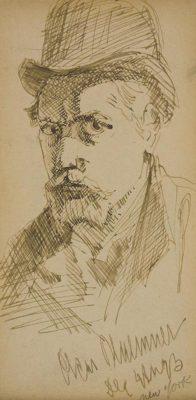 Oscar Bluemner (1867-1938), Self-Portrait,