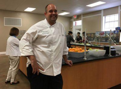 Stetson chef Patrick Smallen