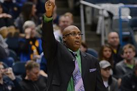 Stetson head coach Corey Williams