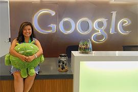 Erica Kok at Google office