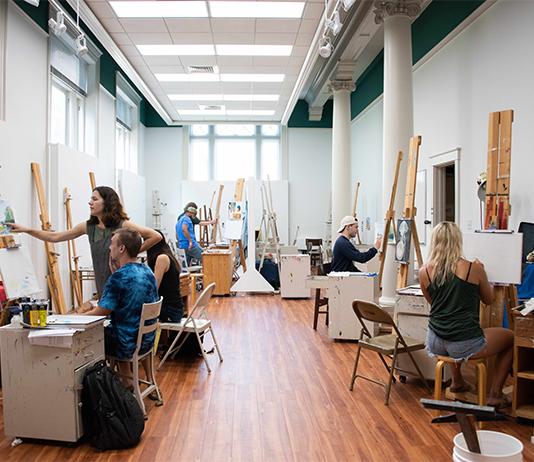 new art studio in sampson