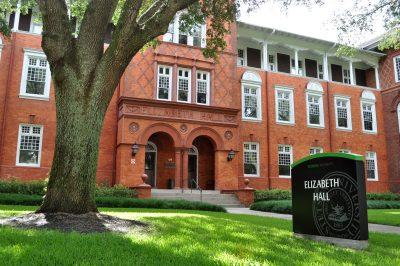 exterior of Elizabeth Hall