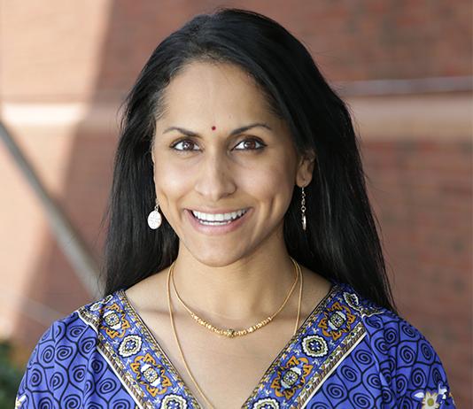 Rajni Shankar-Brown, PhD, wins Stetson's Most Prestigious Faculty Award