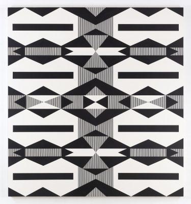 Native American Indian pattern of artwork.