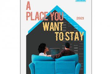 Senior art exhibit cover for brochure 2021