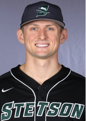Portrait in baseball uniform