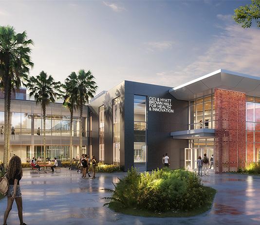 Stetson set to build Cici & Hyatt Brown Hall for Health & Innovation, renovate Sage Hall