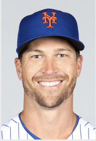 portrait in NY Mets uniform