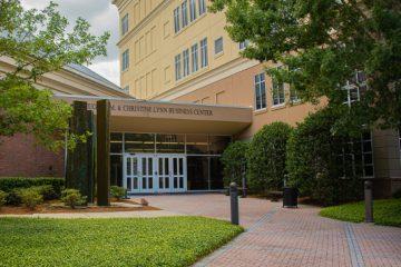 exterior of Lynn Business Center